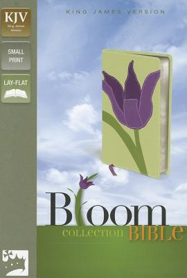"""Image for """"KJV, Thinline Bloom Collection Bible, Compact, Imitation Leather, Red, Lay Flat"""""""