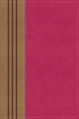 Image for NIV, Biblical Theology Study Bible, Leathersoft, Pink/Brown, Comfort Print: Follow God's Redemptive Plan as It Unfolds throughout Scripture