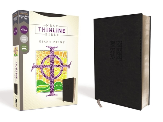 Image for NRSV, Thinline Bible, Giant Print, Leathersoft, Black, Comfort Print