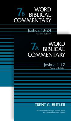 Image for WBC Joshua 2-Volume Set 7A and 7B: Second Edition Word Biblical Commentary