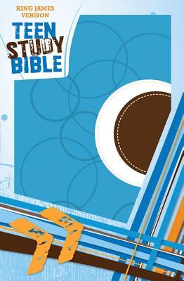 "Image for ""''King James Version Teen Study Bible (Sky BlueFudge, Italian Duo-Tone)''"""