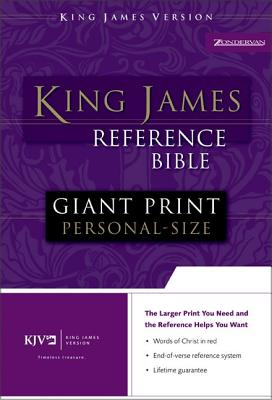 Image for KJV, Reference Bible, Giant Print, Imitation Leather, Navy, Red Letter Edition