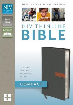 Image for NIV Compact Thinline Bible (GraphiteSierra Itallian Duo-Tone)