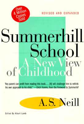 Image for Summerhill School: A New View of Childhood