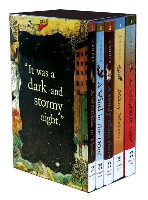 Image for WRINKLE IN TIME QUINTET 5 PAPERBACKS IN BOX