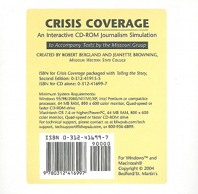 Image for Crisis Coverage - An Interactive CD-ROM Journalism Simulation