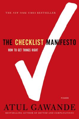 Image for The Checklist Manifesto: How to Get Things Right