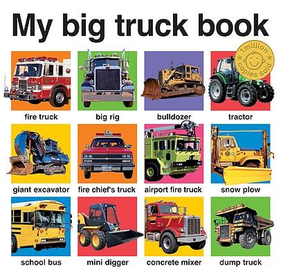 MY BIG TRUCK BOOK, ROGER PRIDDY