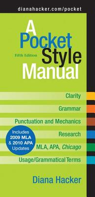A Pocket Style Manual, Fifth Edition, Hacker, Diana
