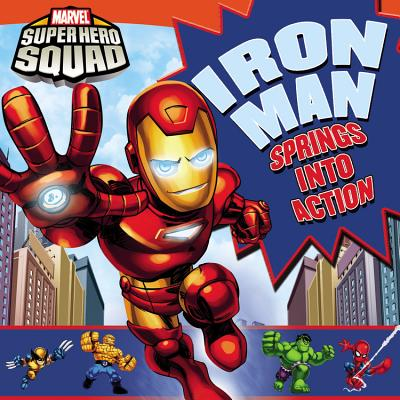 Image for IRON MAN SPRIN INTO ACTION