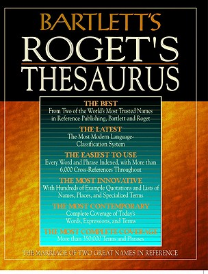 Image for Bartlett's Roget's Thesaurus