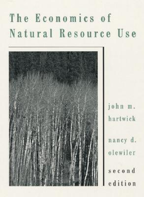 Image for ECONOMICS OF NATURAL RESOURCE USE SECOND EDITION