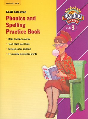SF Reading Street: Grade 3: Phonics and Spelling Practice Book - Student Edition (NATL) [Paperback], Pearson Education (Author)