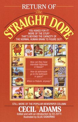 Image for Return of the Straight Dope