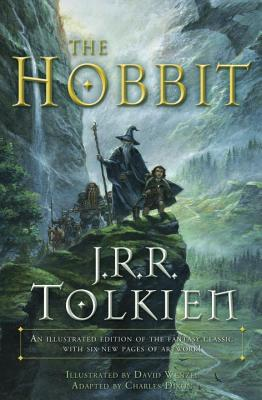 Image for The Hobbit   with a subtitle of An illustrated edition of the fantasy classic