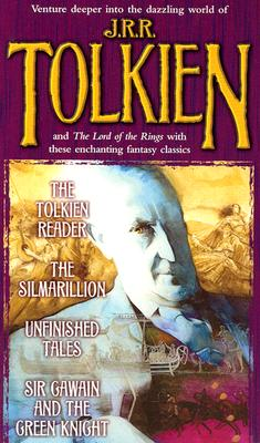 Tolkien Fantasy Tales Box Set (The Tolkien Reader/The Silmarillion/Unfinished Tales/Sir Gawain and the Green Knight), J.R.R. Tolkien