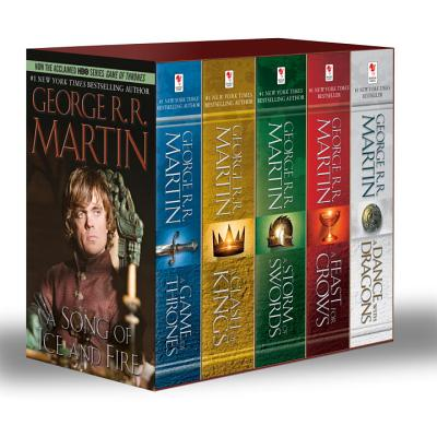 Image for George R. R. Martin's A Game of Thrones 5-Book Boxed Set (Song of Ice and Fire series): A Game of Thrones, A Clash of Kings, A Storm of Swords, A Feast for Crows, and A Dance with Dragons
