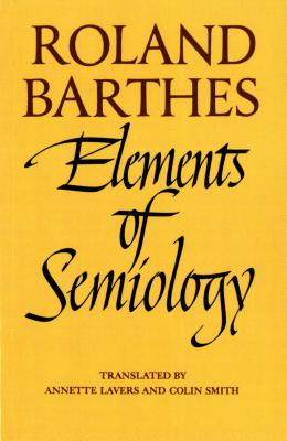 Image for Elements of Semiology