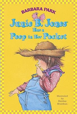 JUNIE B. JONES HAS A PEEP IN HER POCKET (JUNIE B. JONES, NO 15), PARK, BARBARA