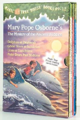 Image for Magic Tree House Boxed Set, Books 9-12: Dolphins at Daybreak, Ghost Town at Sundown, Lions at Lunchtime, and Polar Bears Past Bedtime