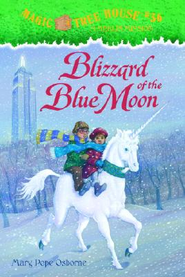 Magic Tree House #36: Blizzard of the Blue Moon (A Stepping Stone Book(TM)), Mary Pope Osborne
