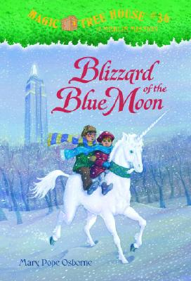 Image for Blizzard of the Blue Moon (Magic Tree House #36, A Stepping Stone Book(TM))