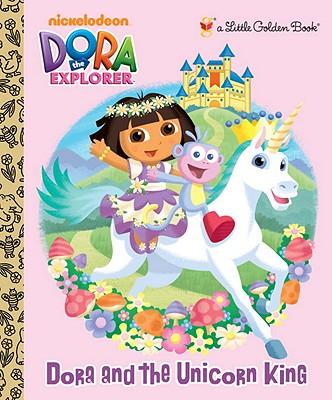 Image for Dora and the Unicorn King (Dora the Explorer) (Little Golden Book)