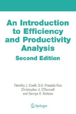 Image for An Introduction to Efficiency and Productivity Analysis