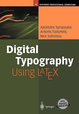 Image for Digital Typography Using LaTeX