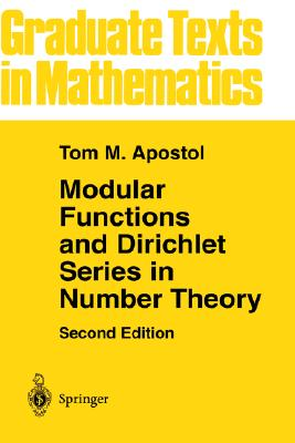 Image for Modular Functions And Dirichlet Series In Number T