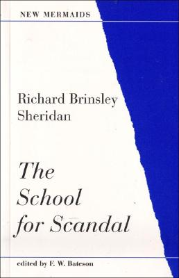 Image for SCHOOL FOR SCANDAL