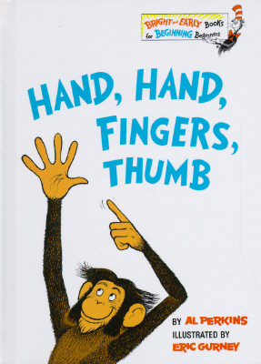 Image for Hand, Hand, Fingers, Thumb (Bright & Early Books)