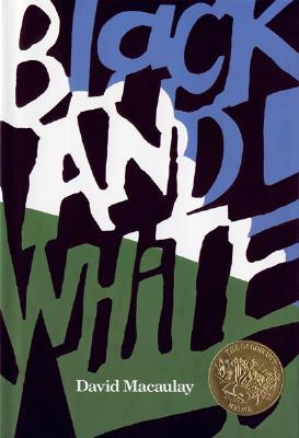 Image for Black and White (Caldecott Medal Book)