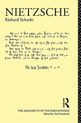 Image for Nietzsche (Arguments of the Philosophers)