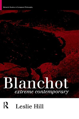 Image for Blanchot: Extreme Contemporary
