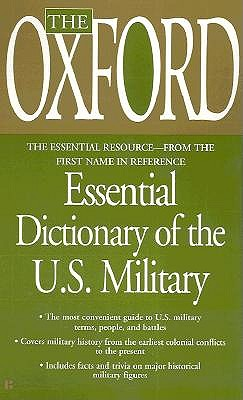 Image for Oxford Essential Dictionary of the U.S. Military