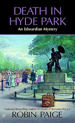 Image for Death in Hyde Park (Robin Paige Victorian Mysteries, No. 10)
