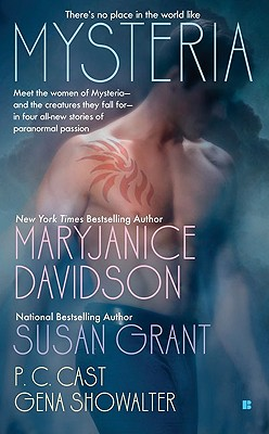 "Mysteria (Berkley Sensation), ""Davidson, MaryJanice, Grant, Susan, Cast, P.C., Showalter, Gena"""