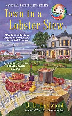 Image for Town In a Lobster Stew (CANDY HOLLIDAY MYSTERY)