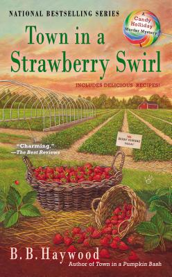 Image for Town in a Strawberry Swirl (Candy Holliday Murder Mystery)