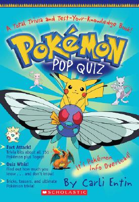 Image for Pokemon: Pokemon Pop Quiz!: A Total Trivia and Test Your Knowledge Book: A Total Trivia And Test Your Knowledge Book!
