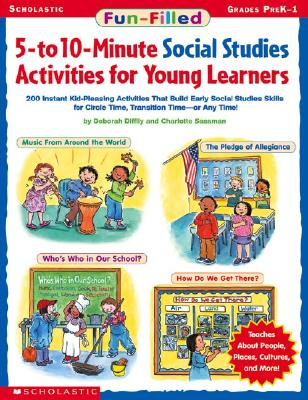 Image for Fun-filled 5-to 10-minute Social Studies Activities For Young Learners