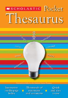 Image for Scholastic Pocket Thesaurus (Scholastic Reference)