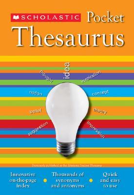 "Scholastic Pocket Thesaurus (Scholastic Reference), ""Bollard, John, K., John Bollard"""