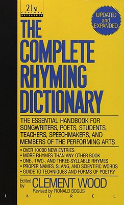 Complete Rhyming Dictionary, CLEMENT WOOD
