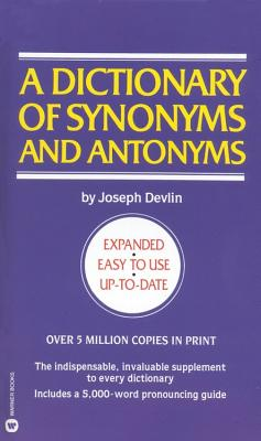 Image for DICTIONARY OF SYNONYMS AND ANTONYMS