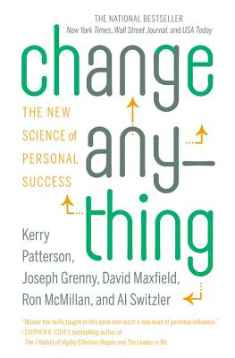 Image for Change Anything  The New Science of Personal Success