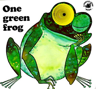Image for One Green Frog (Poke and Look)