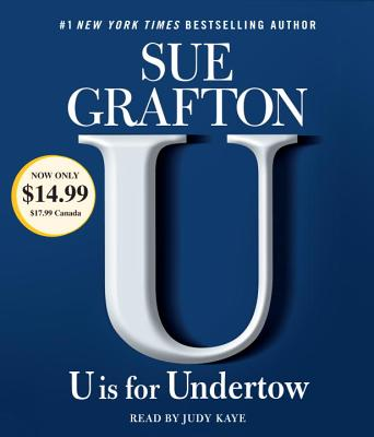 Image for U is For Undertow: A Kinsey Millhone Novel