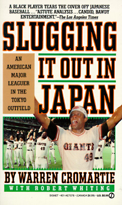 Image for Slugging It Out in Japan: An American Major Leaguer in the Tokyo Outfield